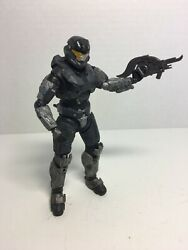 McFarlane Halo Reach Silver Hazop Spartan Action Figure 2010 5.5in. tall Gray $15.00