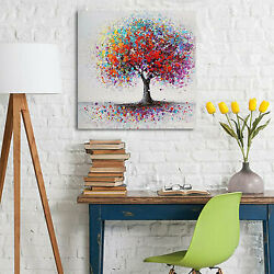 Colorful Tree Abstract Canvas Print Art Oil Painting Picture Wall Decor $11.21