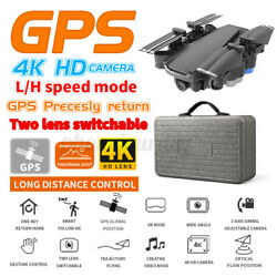 4K 5G Drone RC Drones x Pro With HD Camera GPS WIFI FPV Foldable Flow $86.77