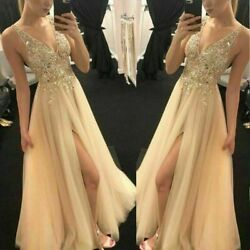 Long Cocktail Women Wedding Bridesmaid Ball Prom Gown Dress Evening Party New $22.75