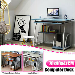Computer Desk Table Laptop Bookshelf Study Work Writing Home Office Storage US $79.66