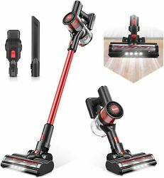 Cordless Vacuum Cleaner Max Power 80AW Electric Broom H12 Level Advanced Filter $104.97