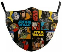 Kids STAR WARS Adjustable Cloth Face Mask Washable US SELLER FREE SHIPPING $8.91