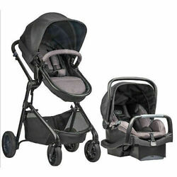 New in unopened box Evenflo Pivot Travel System Casual Gray $260.00