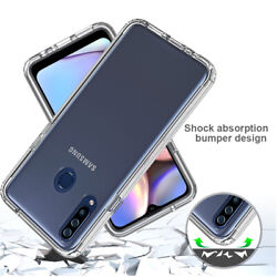 For Samsung Galaxy A20S A20 A10E Case Clear Shockproof Hybrid Crystal Cover $5.99