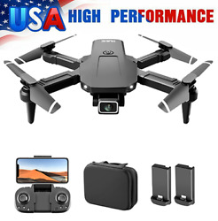 S68 RC Drone with 4K HD Camera Wifi FPV Mini Foldable RC Quadcopter Toy for Kids $22.88