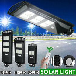 1500000LM 250W Commercial Solar LED Street Light Outdoor IP67 Security Road Lamp