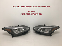 2015 2016 2017 2018 2019 for infiniti q70 headlight led with AFS $1299.99