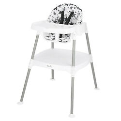 Evenflo 4 in 1 Eat amp; Grow Convertible High Chair Pop Star Gray Baby $69.99