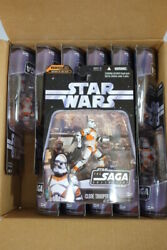 12 Star Wars 2006 Saga Orange Utapau 212th Clone Trooper Figures Lot of 12 026 $239.00