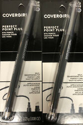 COVERGIRL Point Plus Eye Liner Pencil Charcoal 2 Pack #205 $8.80