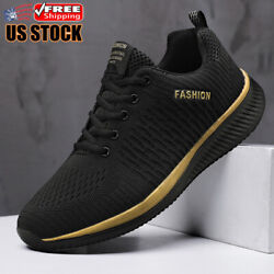 Men#x27;s Fashion Shoes Sports Athletic Outdoor Casual Running Tennis Sneakers Gym $19.18