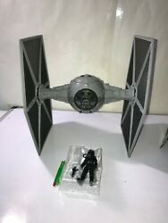 Star Wars TIE FIGHTER amp; PILOT 3.75quot; Force Link 2.0 Solo Story NEW LOOSE NO BOX $27.99