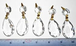 Vintage Chandelier Prisms Crystals 5 $8.95