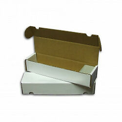 800 Count CT.Cardboard Card Storage Box Holds 800 Standard 1140 Gaming Cards $3.25