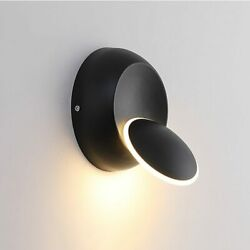 360 Degree Rotate Light Beam Adjustable Wall Lamp LED Wall Living Room Bedside $14.99