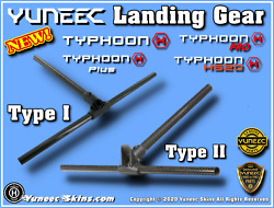 Yuneec Typhoon H H Pro H Plus H530 Landing Gear Assembly YUNTYH110 $39.99