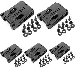 5 Pack Tactical Universal Holster Sheath Belt Clip Large Belt Clips with Screws $16.14