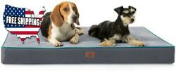 Orthopedic Dog Bed Xl 44quot;X32quot;X4quot; Grey Xl Memory Foam Extra Large For Small $95.99