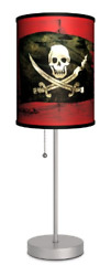 Various Pirates Sport Silver Lamp $39.31