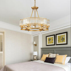6 Lights Chandeliers Modern Crystal Ceiling Fixture Home Lighting Pendant Lamps $139.64
