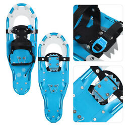 25quot; Snowshoes Lightweight Aluminum Frame Snowfield with Buckleamp;Carry Bag $51.99
