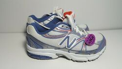 New Balance KJ632 SPY White Purple Girl#x27;s Kids Running Shoes Sneakers Sz 1.5 US $24.00