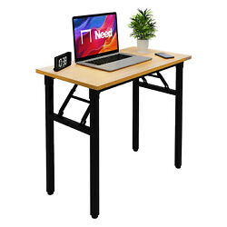 Need Small Folding Desk Portable Foldable Computer Table Study Table for Teens $79.00