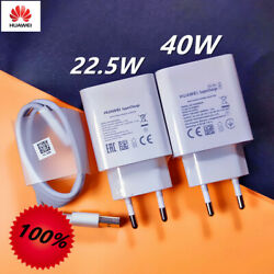 Original Huawei 40W Supercharge Adapter For P30 P40 P20 Lite Mate 10 Pro 20 V20 $16.98