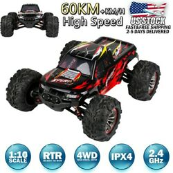 X04 Plus Brushless 2.4G 1:10 4WD 60km h High Speed Off road Truck RC Car Toy RTR $75.99