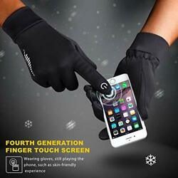 Winter Gloves Men Women Touch Screen Glove Cold Weather Warm Gloves Workout $25.55