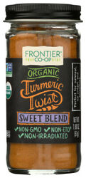 Frontier Natural Products Coop Sweet Blend Certified Organic 1.8 oz. Jars $6.84
