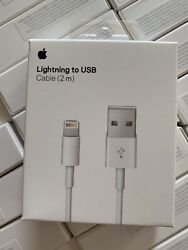 Original OEM Apple iPhone 11 X 8 7 6 5 Lightning USB Cable Charger 2m 6FT $9.88