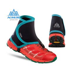 Aonijie Low Trail Running Gaiters Protective Wrap Shoe Covers Pair For Men Women $30.99