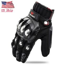 Tactical Military Gloves Men Army Steel Hard Knuckle Full Finger Outdoor Hunting $18.99