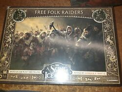 A Song of Ice and Fire Miniature Game Free Folk Raiders NEW $23.00
