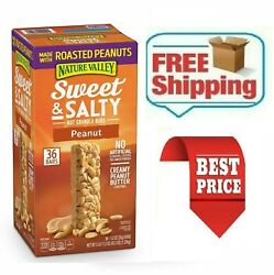 Nature Valley Sweet and Salty Nut Granola Bars Peanut Snack Bars 36 ct. $19.12