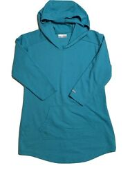 Columbia long sleeve shirt womens small with hoodie $8.00
