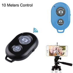 Wireless Bluetooth Remote Camera Control Shutter for iPhone iPad Android Tablets $3.99