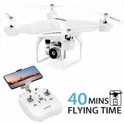 40Mins Flight Time Drone JJRC H68 RC Drone with 720P HD Camera Live Video FPV $127.18