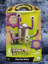 Wonderology Pop Can Robot Build Own Motorized Tin Can Robot NEW Sealed $19.99