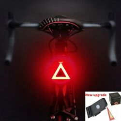 Multi Lighting Modes Bicycle Light USB Charge Led Bike Light Flash Tail Rear $12.99