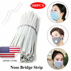 Nose Bridge Wire for Face Mask Strips Sewing Crafts Making DIY Bracket Plastic $7.99