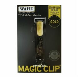 WAHL CORDLESS MAGIC CLIP BLACK amp; GOLD. WAHL 8148 100 GENUINE *LIMITED EDITION* $94.00