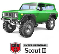 Redcat Racing GEN8 V2 Scout II 1 10 Scale Brushed Electric RC Crawler Green NEW $299.99