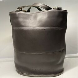Vintage Coach Tribeca Bucket Tote Made in United Stated Elephant Ear Gray 9099 $85.00