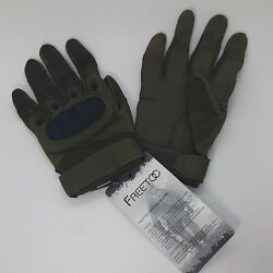 Riot Tactical Gloves Protest Army Military Police Hard Impact Knuckle FREETOO US $22.99