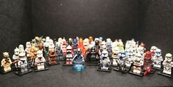 Lego Star Wars And Custom Minifigures Blind Bag lot w Rare Kashyyyk Scout $6.00