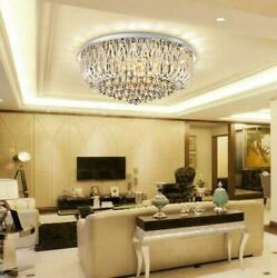 Modern Luxury K9 Crystal Ceiling Lamp LED Chandelier Home Living Room Lighting $209.99