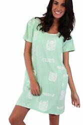 INGEAR Fish Graphic Cotton Casual Beach Dress Summer Plus Size Fashion Cover Up $14.99